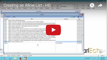 Allow List Management Video